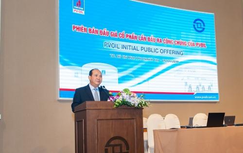 PVOIL tổ chức IPO thành công
