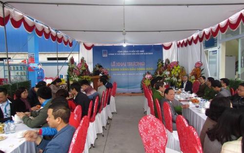 PVOIL Nam Định tưng bừng khai trương cửa hàng xăng dầu Song Hào