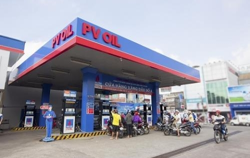 PVOIL điều chỉnh giá bán lẻ, bán buôn xăng dầu từ 15h00 phút, ngày 21/02/2018