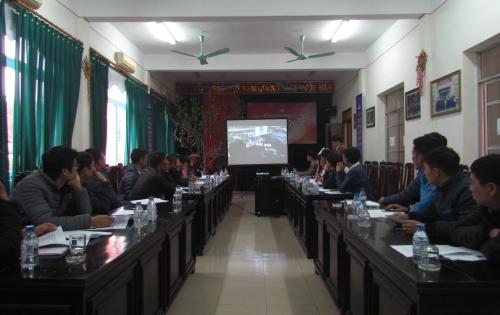 PVOIL Nam Định tập huấn chuẩn bị triển khai chương trình PVOIL EASY