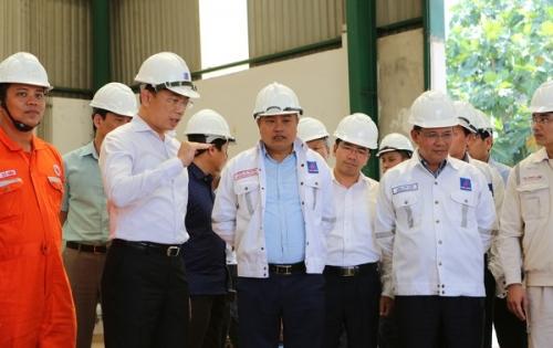 Chủ tịch Hội đồng thành viên PVN kiểm tra tình hình Nhà máy nhiên liệu sinh học Bình Phước