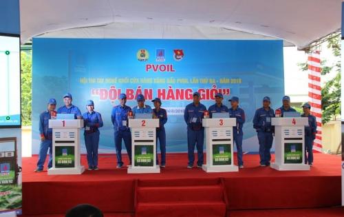 PVOIL Nam Định tham dự Hội thi tay nghề khối CHXD PVOIL lần thứ 3