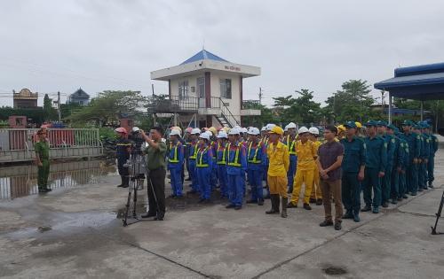 PVOIL Nam Định diễn tập phương án chữa cháy phối hợp